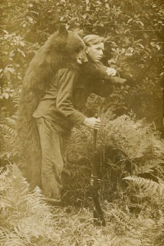 remington-model-8-young-hunter-with-a-black-bear